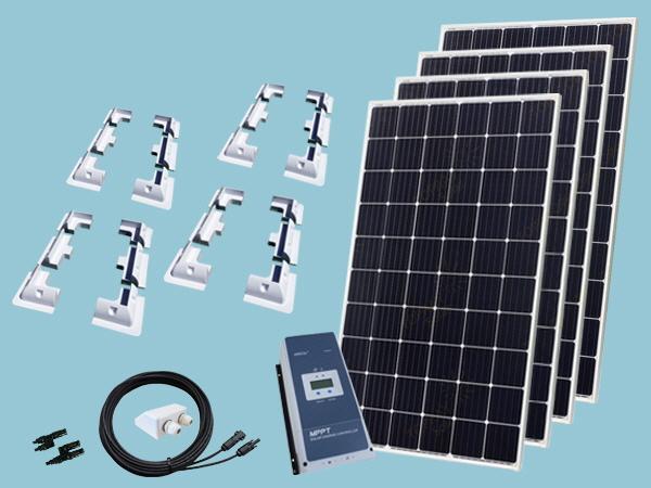 1220W Sunshine Solar RV Kit 12V/24V