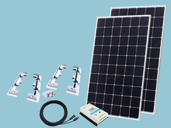 610W Sunshine Solar Boat & Motorhome Kit