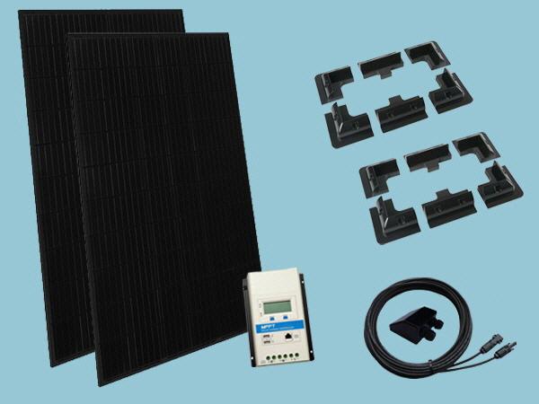 660W Rigid Solar Narrowboat  Kit 12V or 24V