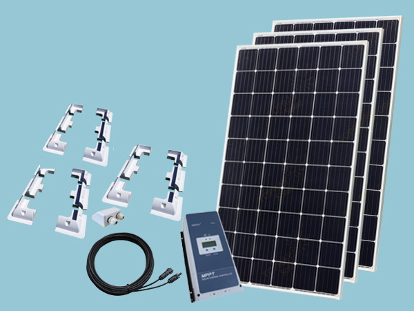 915W Sunshine Solar Boat & Motorhome Kit