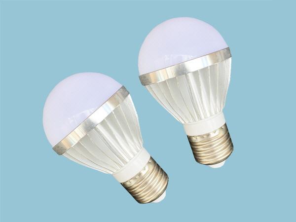 7W-12V DC LED Light Bulbs - Twin Pack
