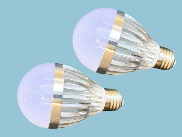 12W-12V DC LED Light Bulbs - Twin Pack