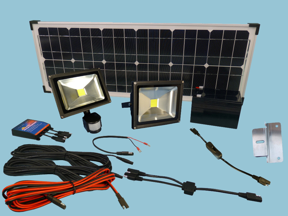 Solar fastFIX Floodlight Kit