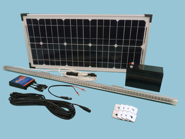 Solar Lighting Kit fastFIX Mono 20