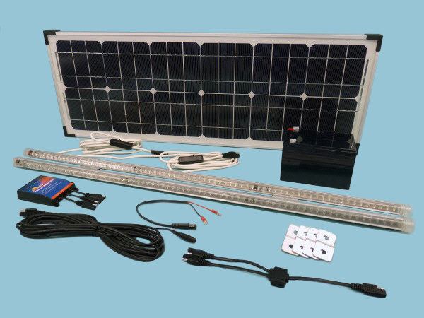 Solar Lighting Kit fastFIX Mono 30