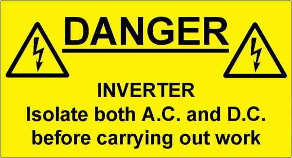 Warning Labels  LAB001