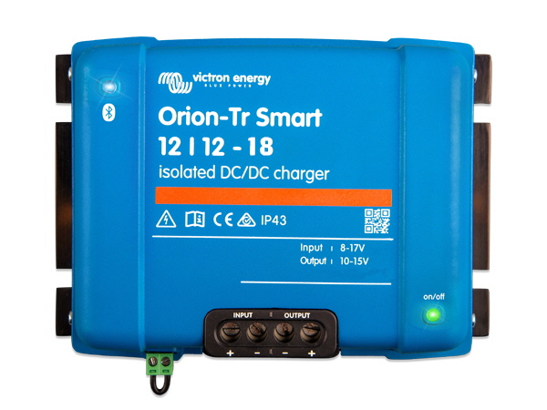 Orion-Tr Smart 12/12V-18A Isolated DC-DC Charger