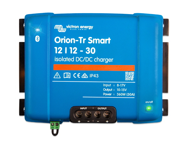 Orion-Tr Smart 12/12V-30A Isolated DC-DC Charger