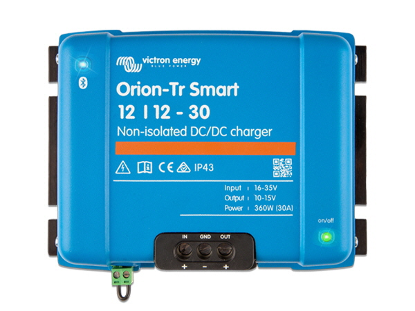 Orion-Tr Smart 12/12V-30A Non-Isolated DC-DC Charger
