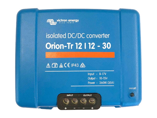Victron Orion-Tr 12/12V-30A Isolated DC-DC Converter