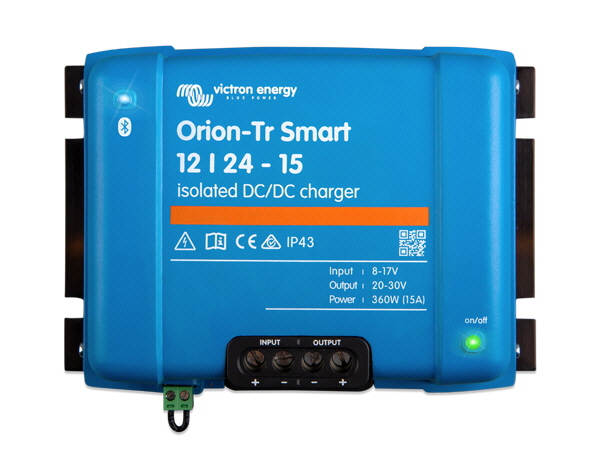 Orion-Tr Smart 12/24V-15A Isolated DC-DC Charger