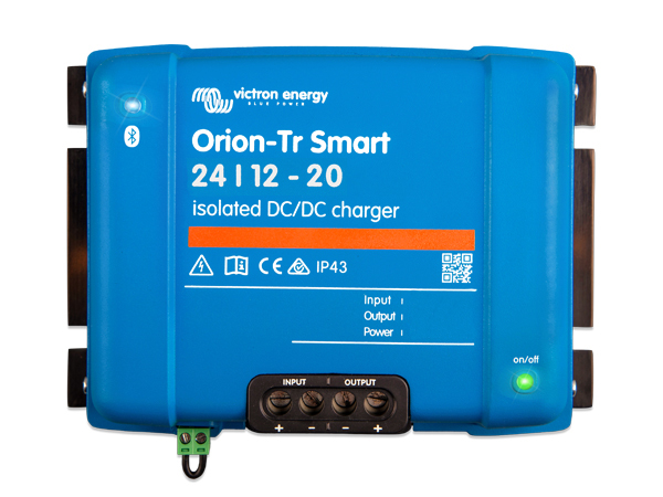 Orion-Tr Smart 24/12V-20A Isolated DC-DC Charger