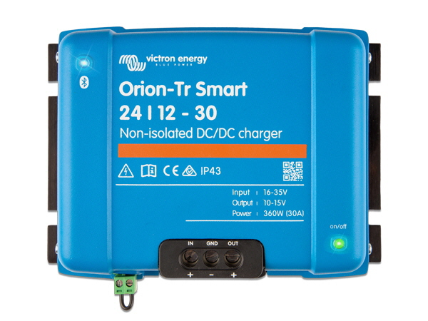 Orion-Tr Smart 24/12V-30A Non-Isolated DC-DC Charger