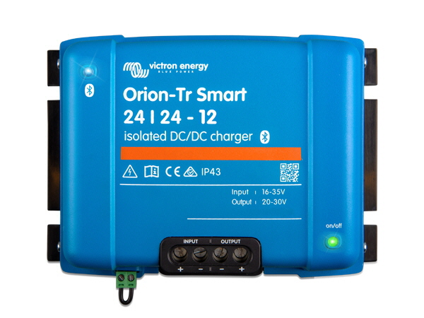 Orion-Tr Smart 24/24V-12A Isolated DC-DC Charger