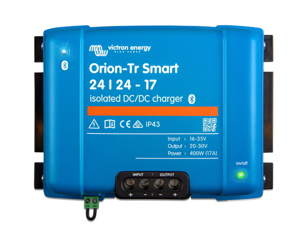 Orion-Tr Smart 24/24V-17A Isolated DC-DC Charger