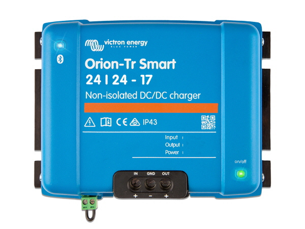 Orion-Tr Smart 24/24V-17A Non-Isolated DC-DC Charger