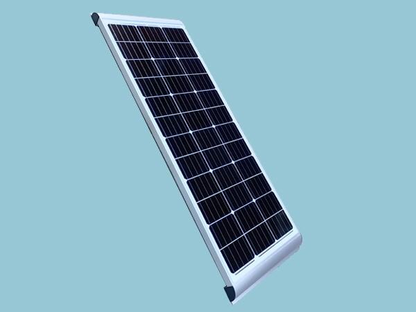 Sunshine RV Solar Panel 130W 12V Mono - Integrated Mounts