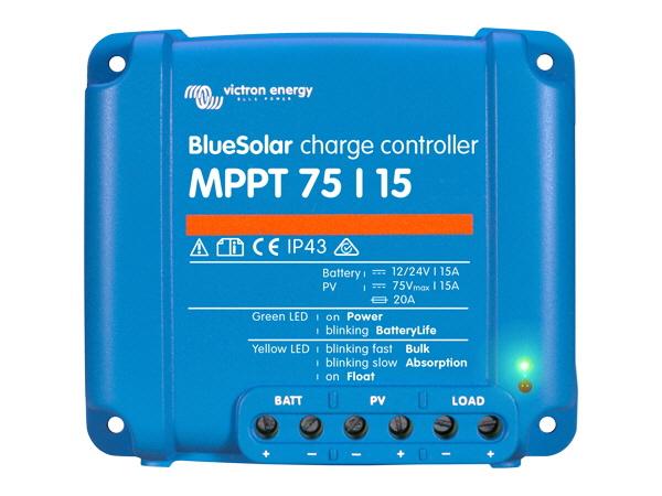 Victron BlueSolar MPPT 75V/15A (12/24V)