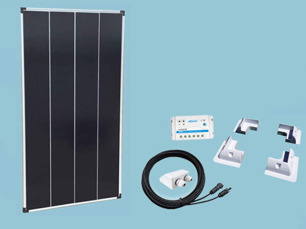 130W Sunshine Solar Caravan Motorhome & Boat Kit