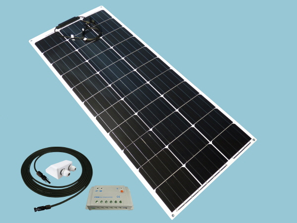 Sunshine Solar Flexible Curve 100W 12V Kit