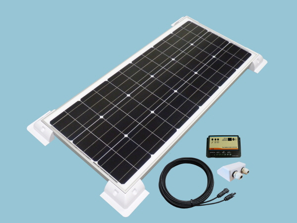 100W Sunshine 'Slimline' Solar Caravan Motorhome & Boat Kit