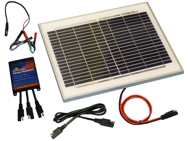 10W Sunshine Solar Saver/Maintainer