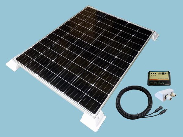 200W Sunshine Solar Caravan Motorhome & Boat Kit
