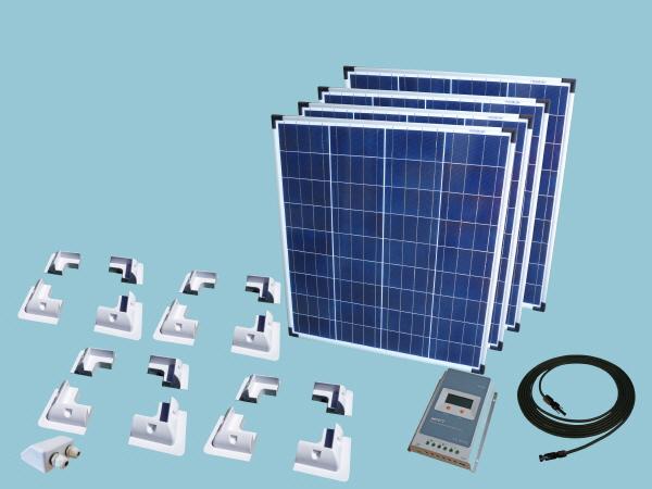 320W Sunshine Solar Caravan Motorhome & Boat Kit