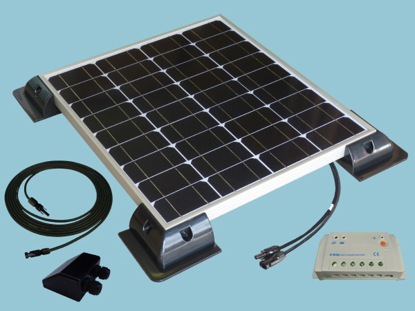 40W Sunshine Solar Caravan Motorhome & Boat Kit