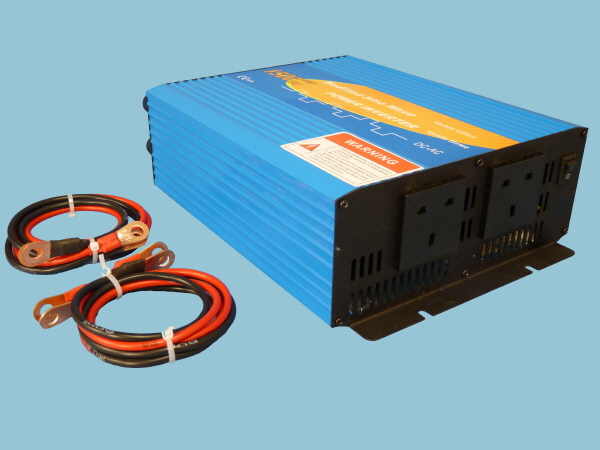 1500W - 12V Modified Sine Wave Sunshine Power Inverter