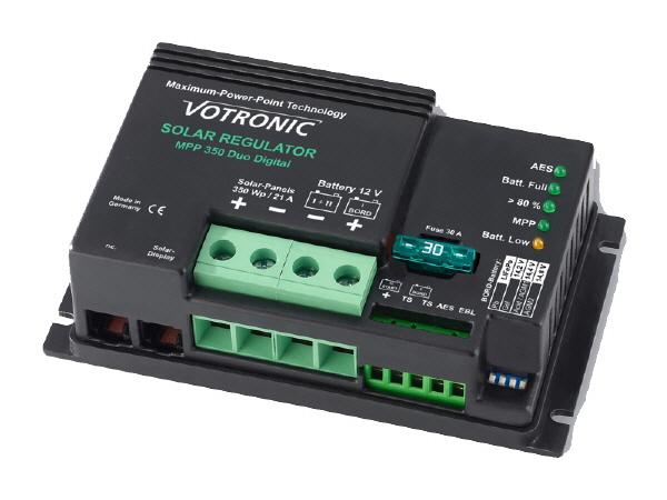 Dual MPPT Battery Controller - 21A - 12V