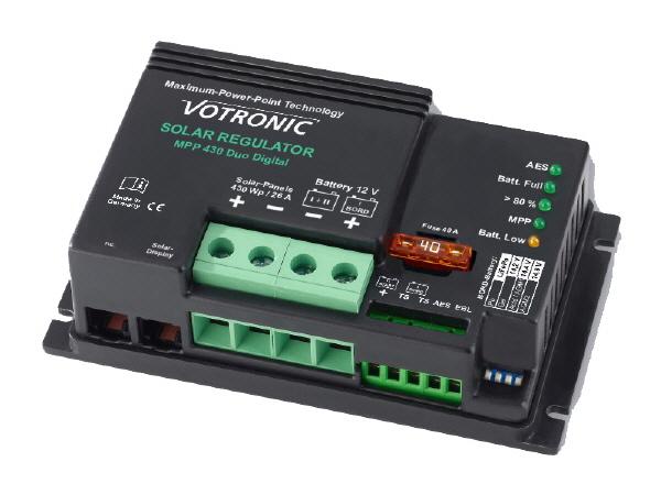 Dual MPPT Battery Controller - 26A - 12V