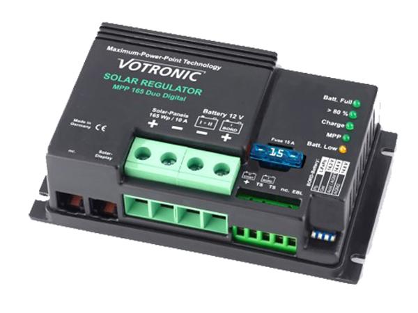 Dual MPPT Battery Controller - 10A - 12V