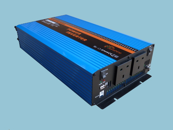 2500W - 12V Pure Sine Wave Sunshine Power Inverter