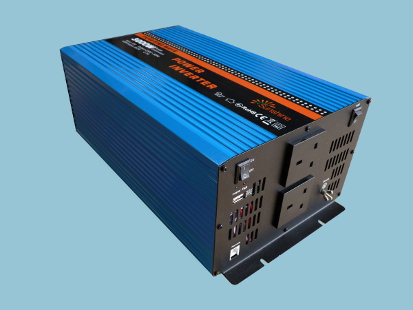 3000W - 12V Pure Sine Wave Sunshine Power Inverter