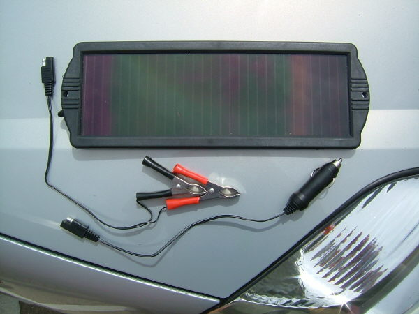 Solar Powered Battery Optimiser 1.5W