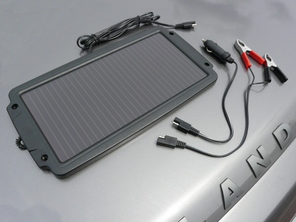 Solar Powered Battery Optimiser 2.4W