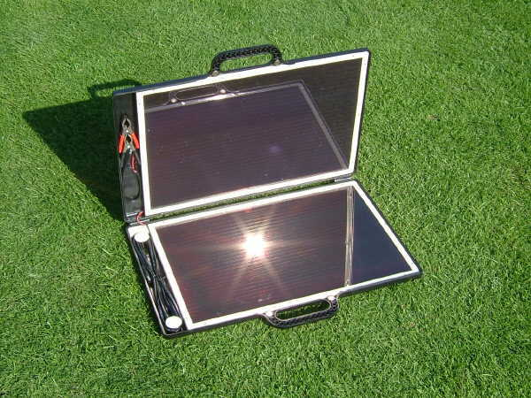 Sunshine Solar Briefcase Charger Amorphous 13 Watt